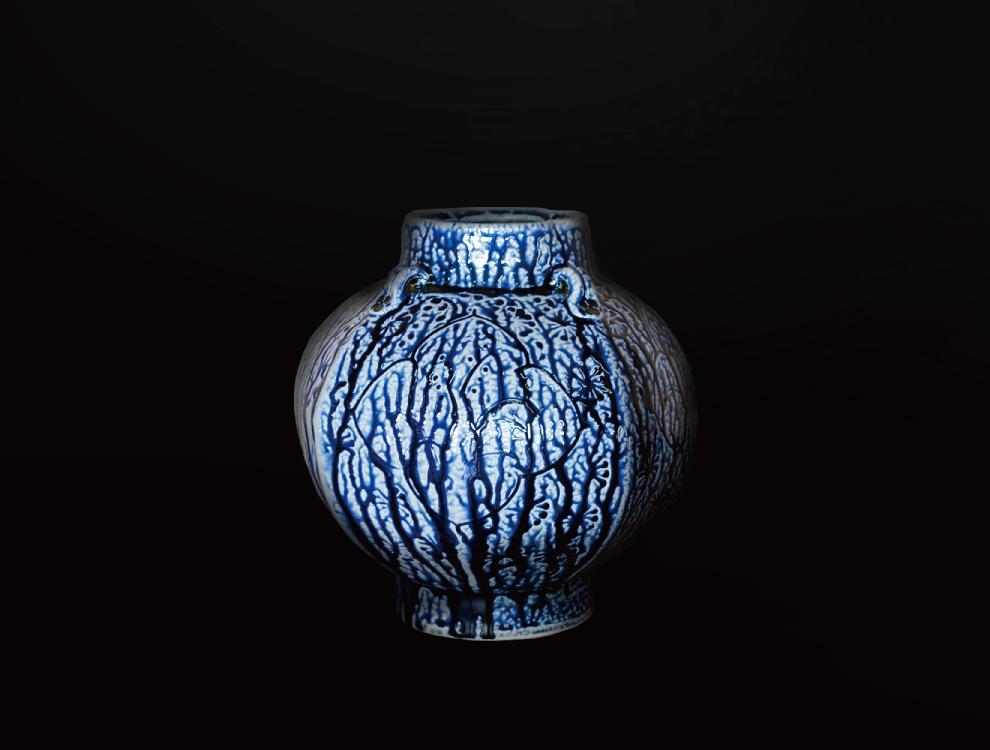 塩釉花紋壷Fのイメージ