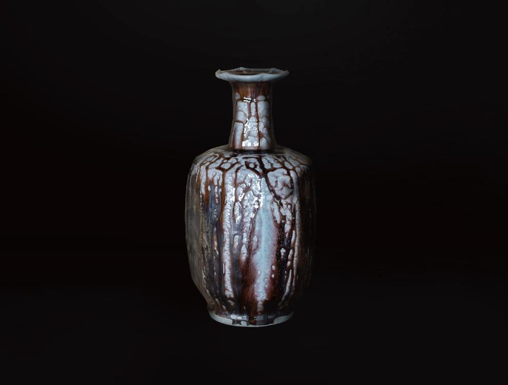 塩釉紋打壷Eイメージ