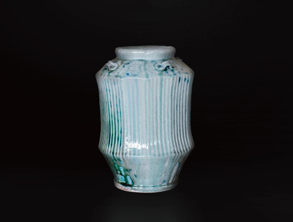緑釉縞壷のイメージ