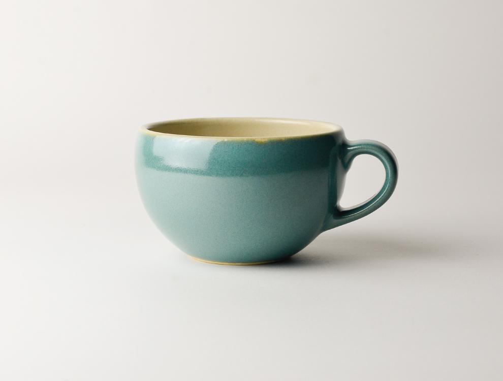 益子伝統釉_益子青磁釉 スープボウル イメージ
