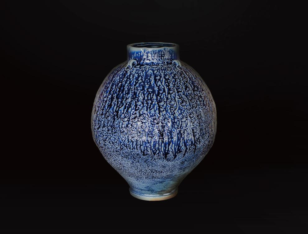 塩釉花紋壷Cのイメージ