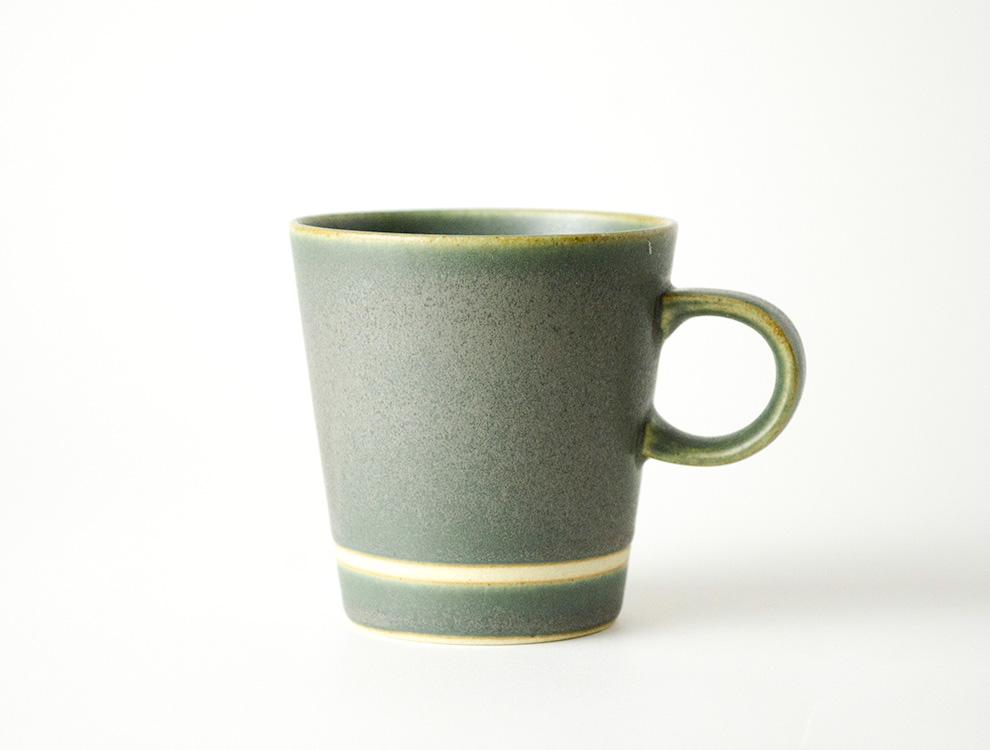 SEN_濃緑 コーヒーカップ イメージ