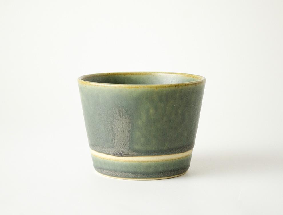 SEN_濃緑 カップ イメージ