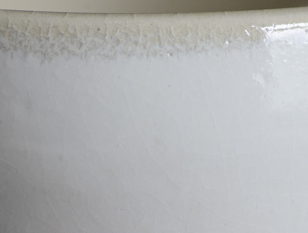 益子伝統釉_糠白釉 スープボウルのイメージ