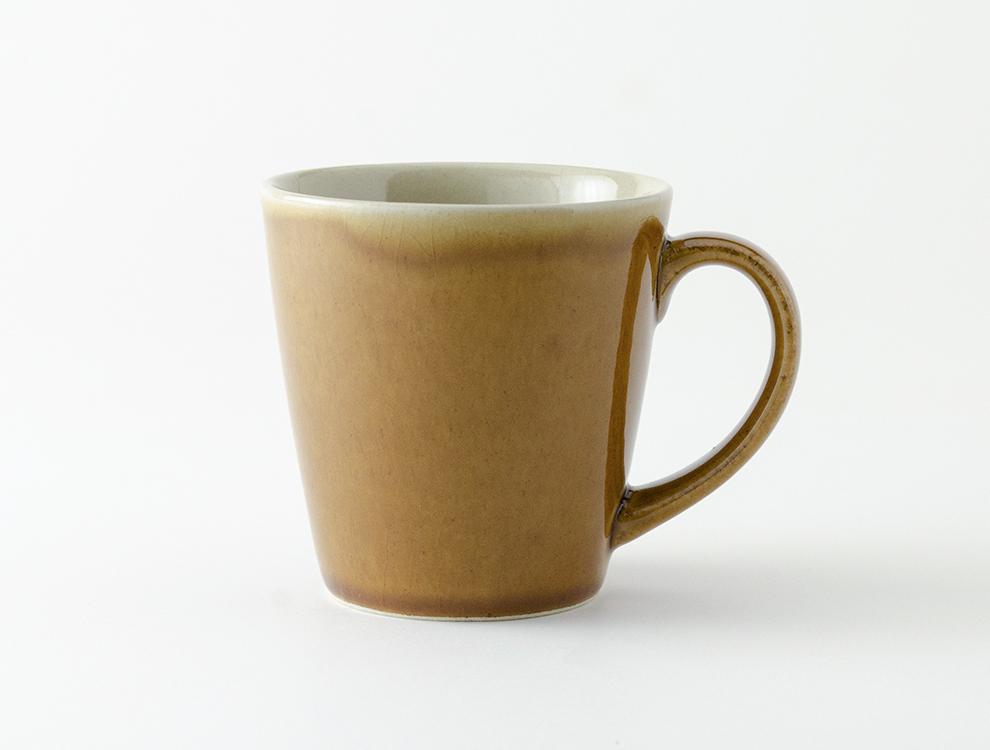 益子伝統釉_飴釉 ロングマグカップ イメージ