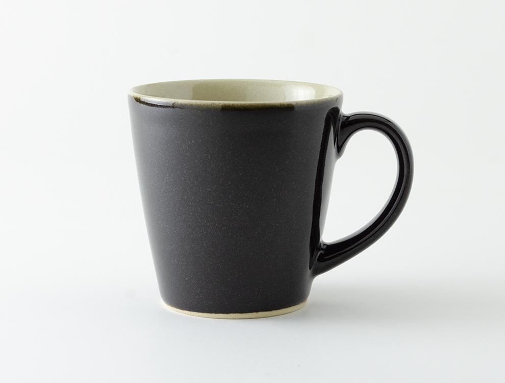 益子伝統釉_黒釉 ロングマグカップ イメージ