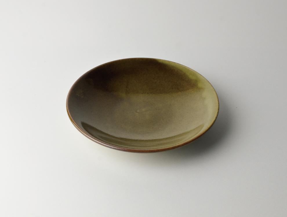 益子伝統釉_皮鯨釉 ソーサーのイメージ