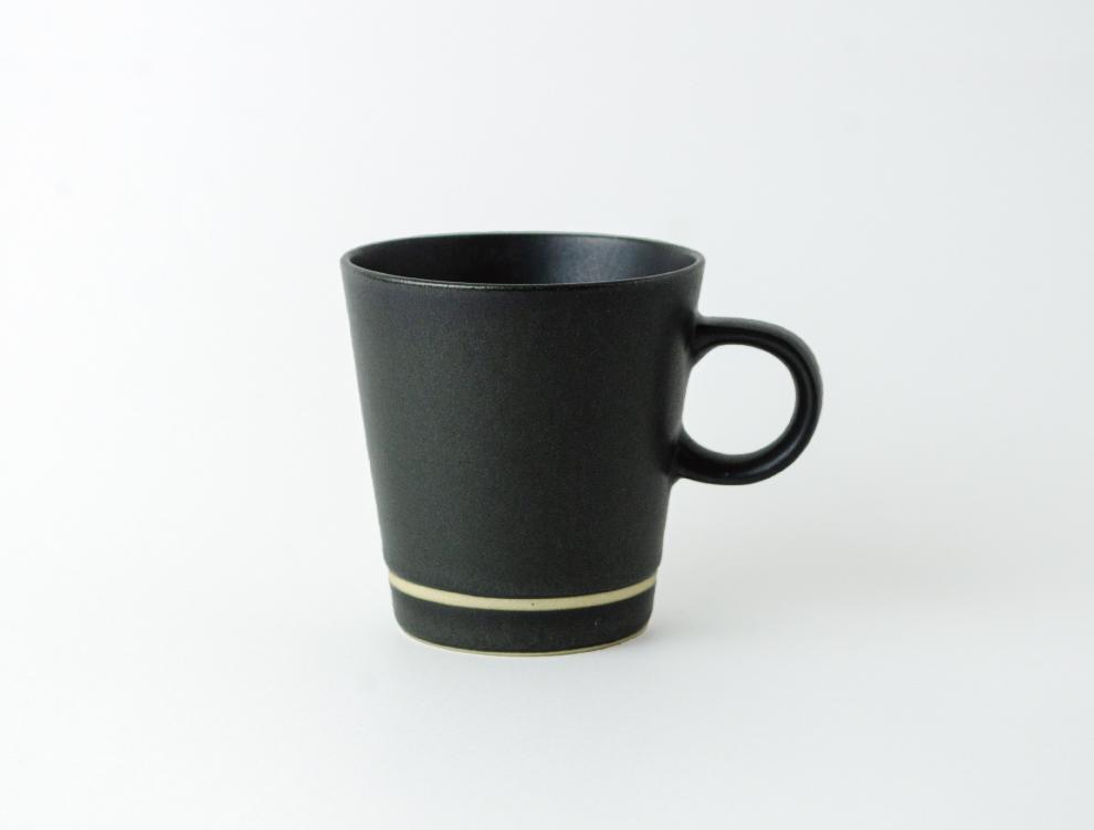 SEN_墨黒 コーヒーカップ イメージ