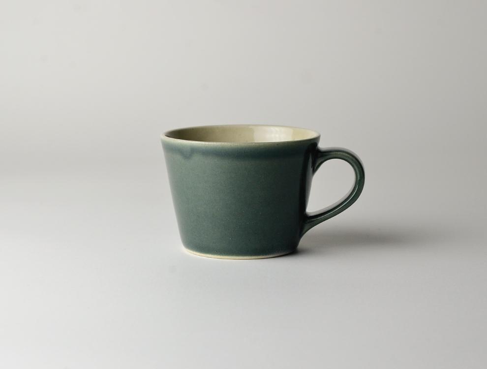 益子伝統釉_呉須釉 コーヒーカップ イメージ