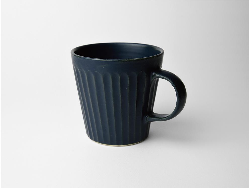 しのぎ_ブルーマット マグカップ イメージ