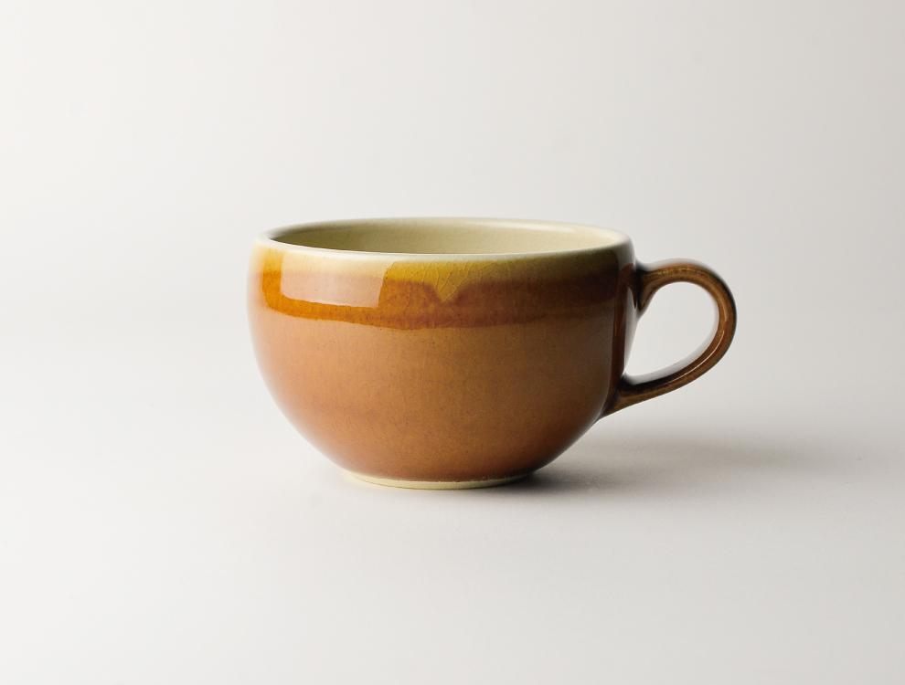 益子伝統釉_飴釉 スープボウルのイメージ