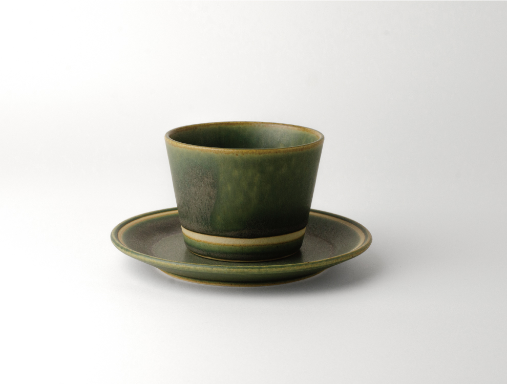 SEN_濃緑 カップのイメージ