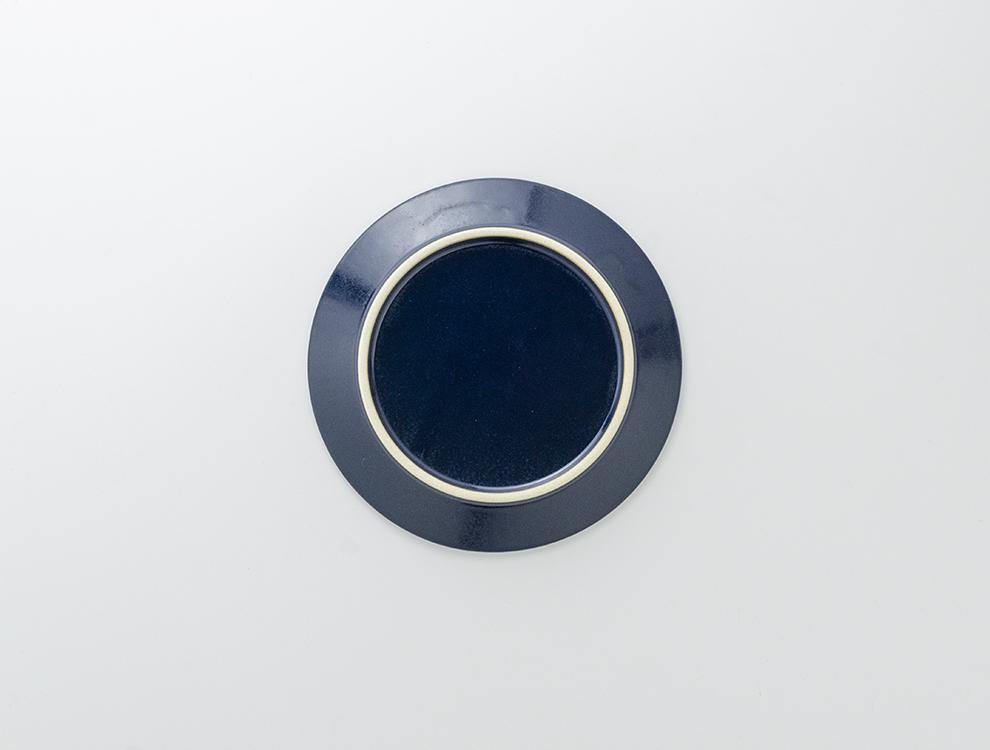 しのぎ_ブルーマット 5.5寸平皿のイメージ