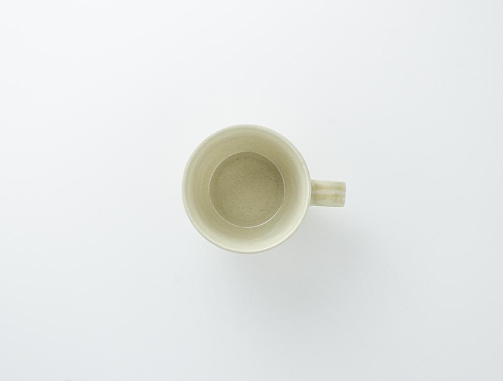 益子伝統釉_灰釉 コーヒーカップのイメージ