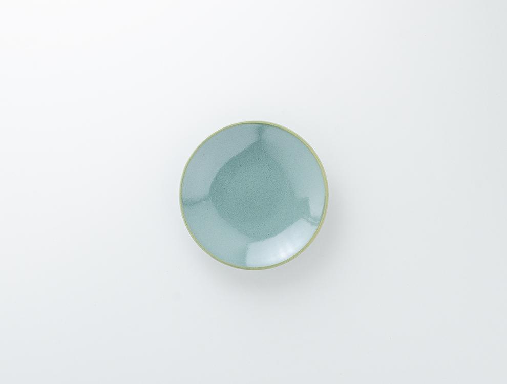 益子伝統釉_益子青磁釉 ソーサーのイメージ