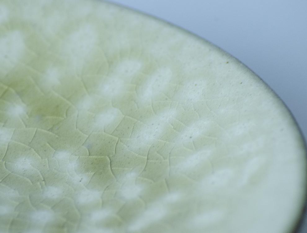 益子伝統釉_灰釉 ソーサーのイメージ