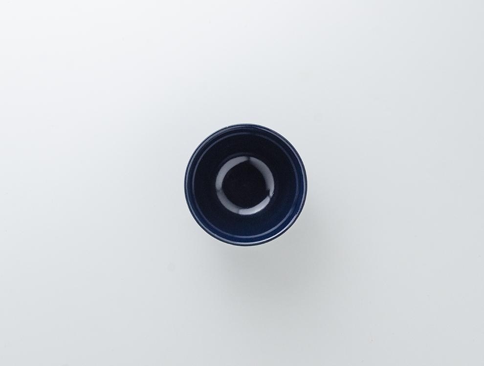 しのぎ_ブルーマット 飯碗のイメージ