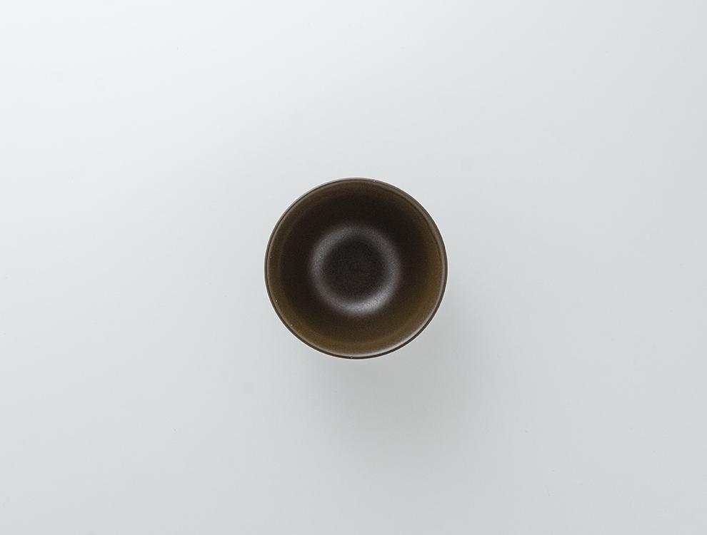 しのぎ_ブラウンマット 飯碗のイメージ