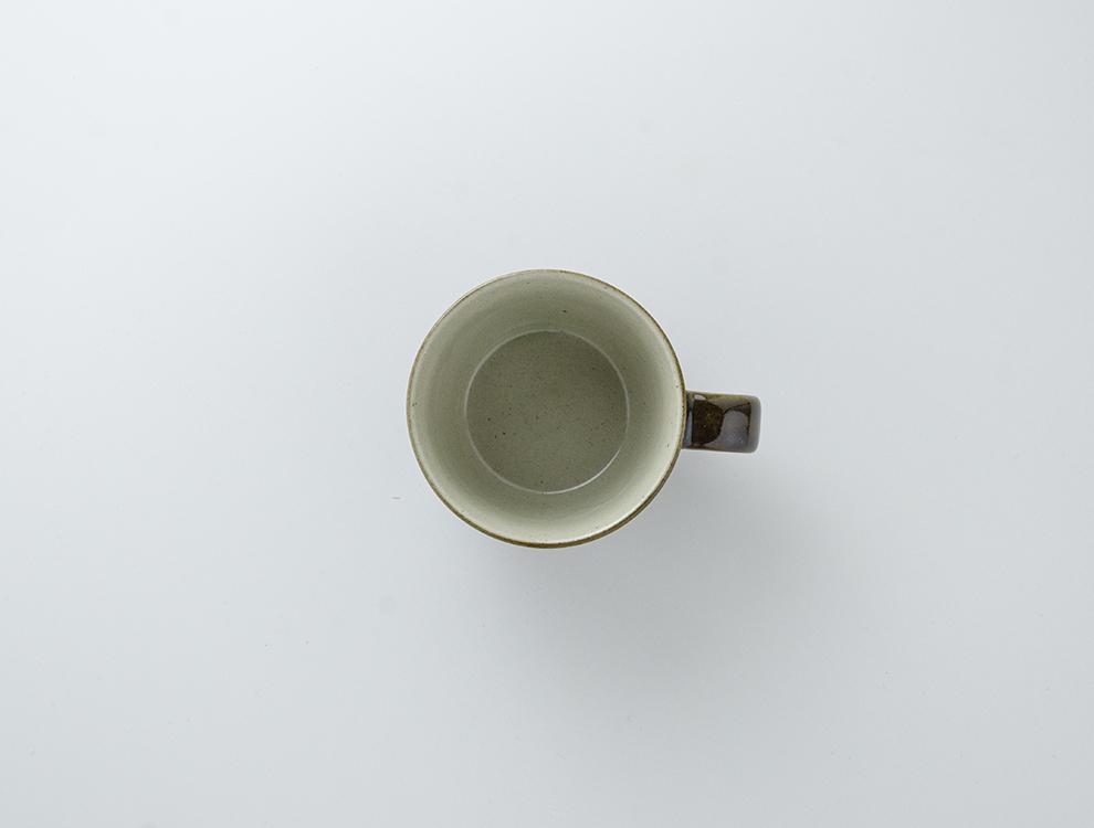 益子伝統釉_皮鯨釉 コーヒーカップのイメージ