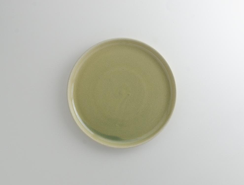 PLAIN_淡青磁 プレート Mのイメージ
