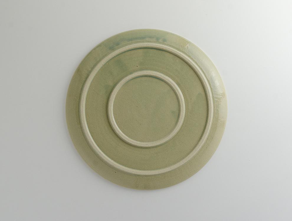 PLAIN_淡青磁 プレート Lのイメージ
