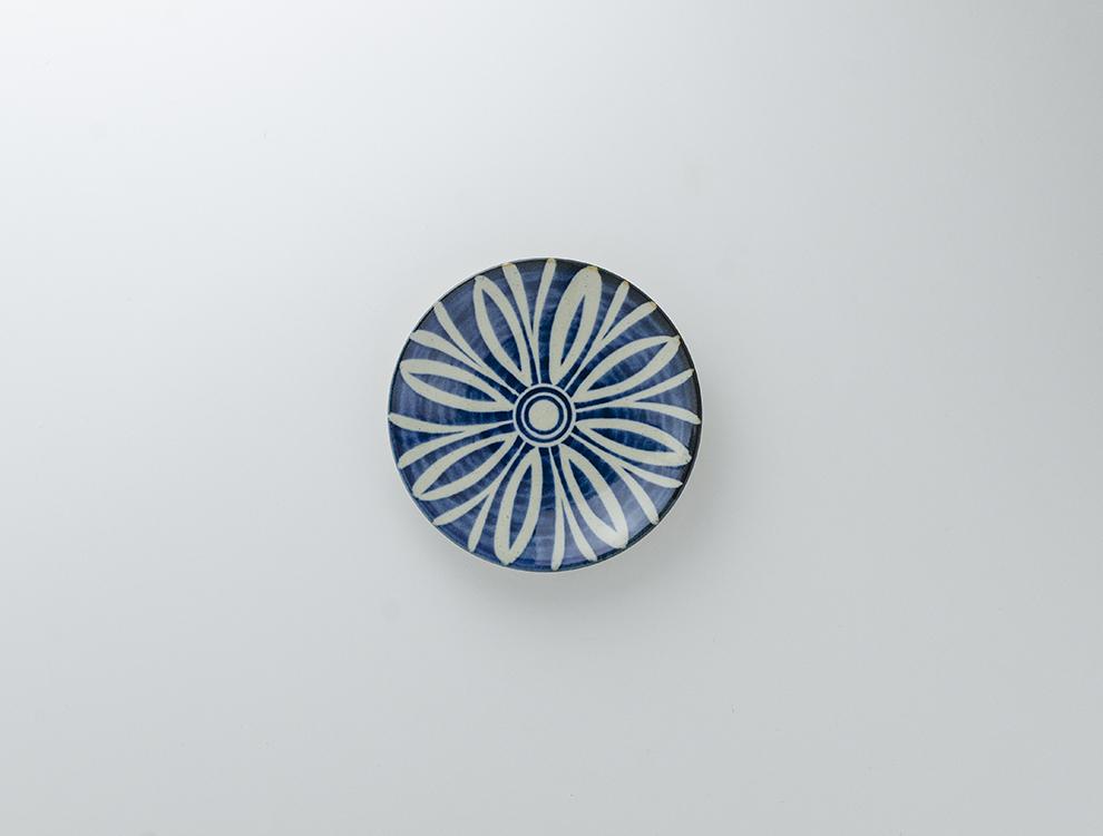 ペルシャ紋_呉須ペルシャ紋 5寸丸皿のイメージ