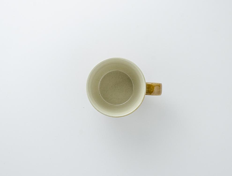 益子伝統釉_飴釉 コーヒーカップのイメージ