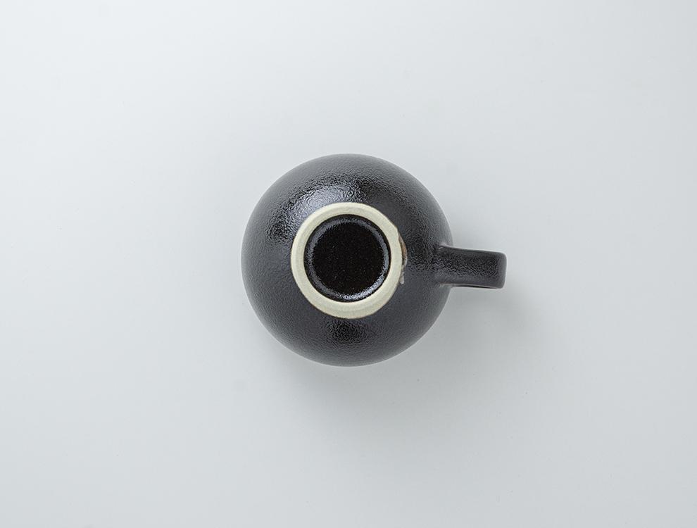 益子伝統釉_黒釉 スープボウルのイメージ