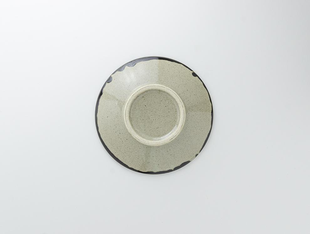 ペルシャ紋_黒ペルシャ紋 7寸丸皿のイメージ