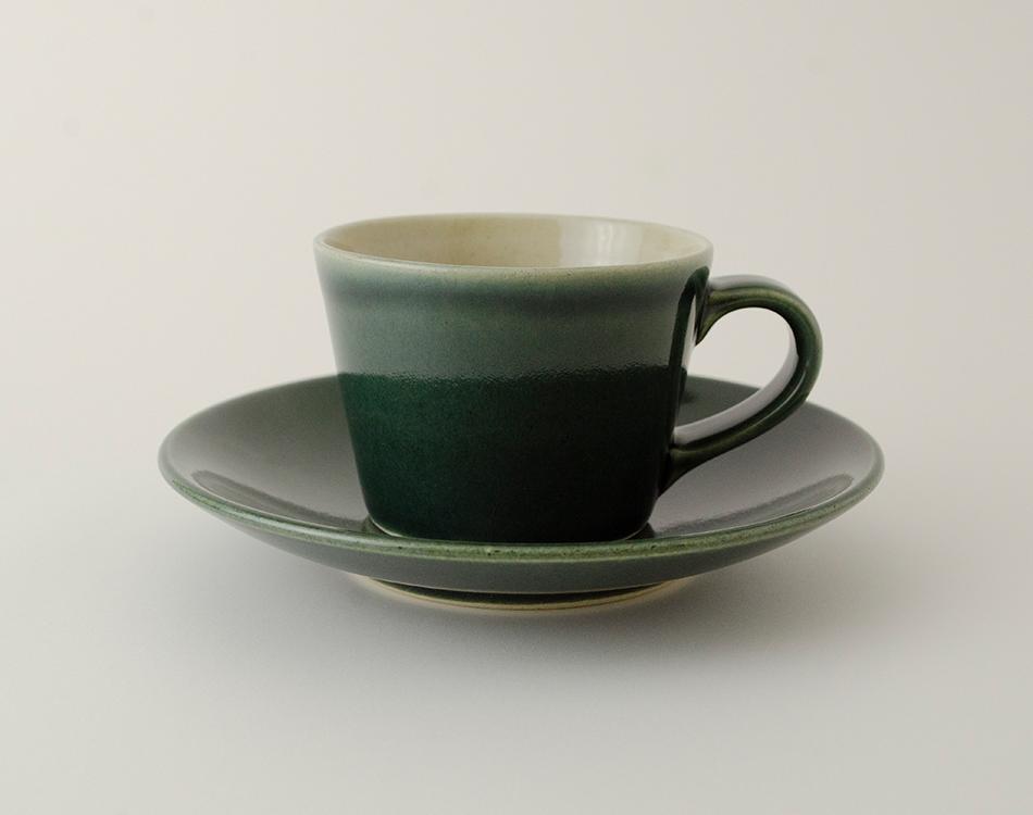 伝統釉ククカップ&ソーサーのイメージ
