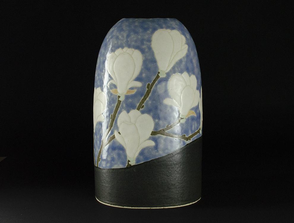 島田琴絵_白木蓮花器のイメージ