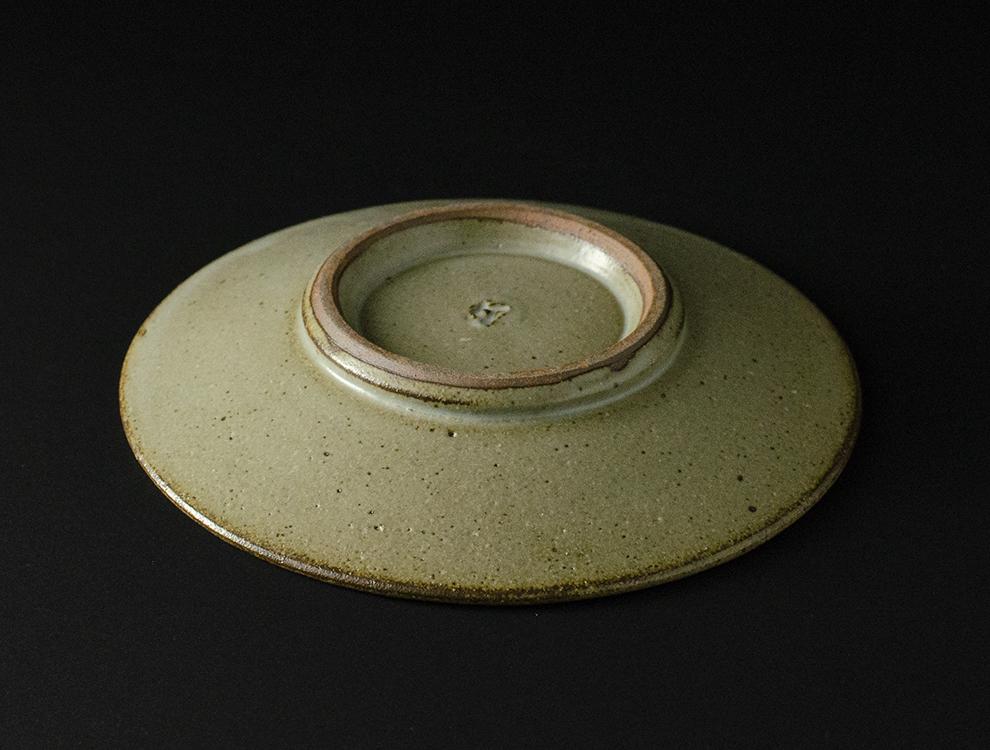 島岡桂_地釉縄文象嵌皿のイメージ