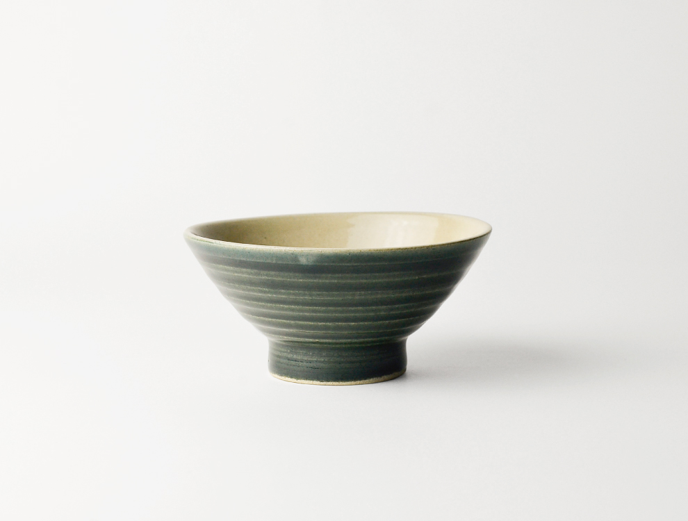 U TOCHIGI DESIGN_呉須釉線紋 飯碗 イメージ