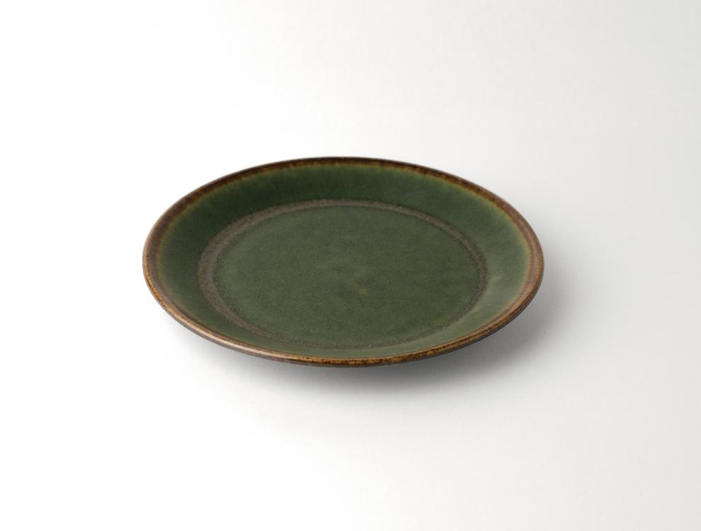 SABI_濃緑 プレートのイメージ