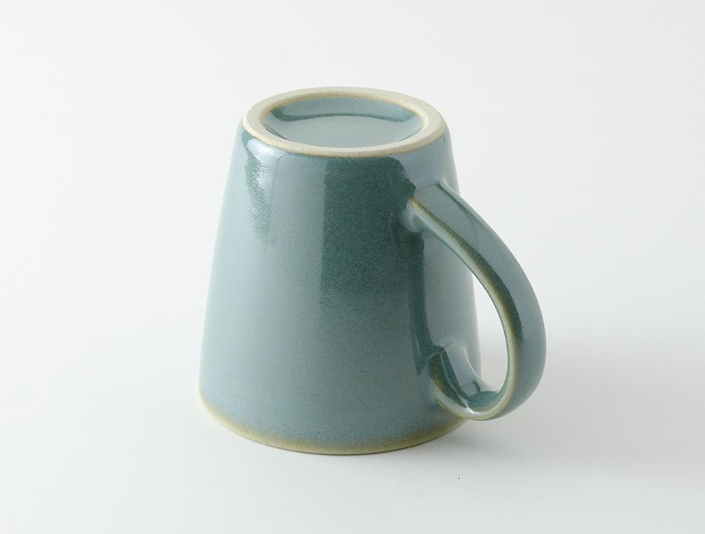 益子伝統釉_益子青磁釉 ロングマグカップのイメージ
