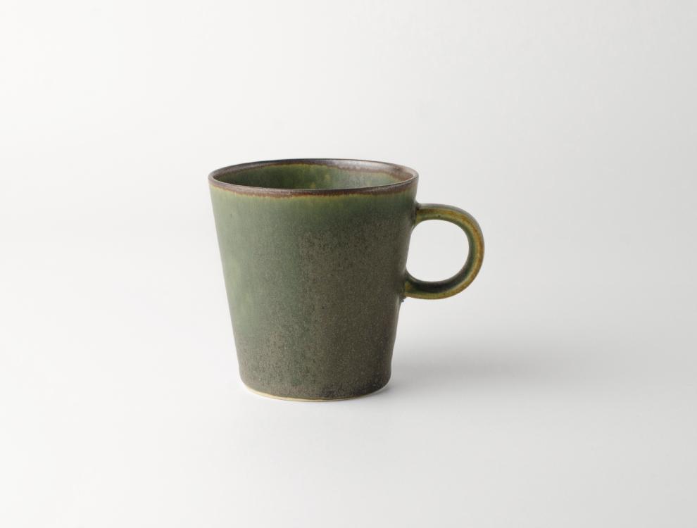 SABI_濃緑 カップ イメージ