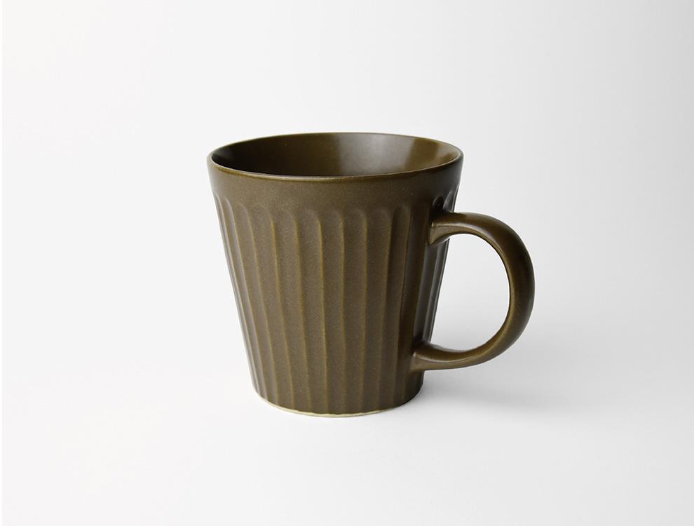 しのぎ_ブラウンマット マグカップ イメージ