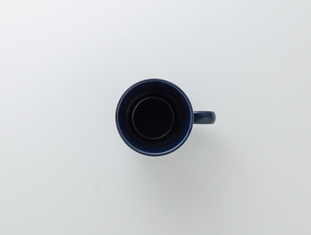 しのぎ_ブルーマット マグカップのイメージ