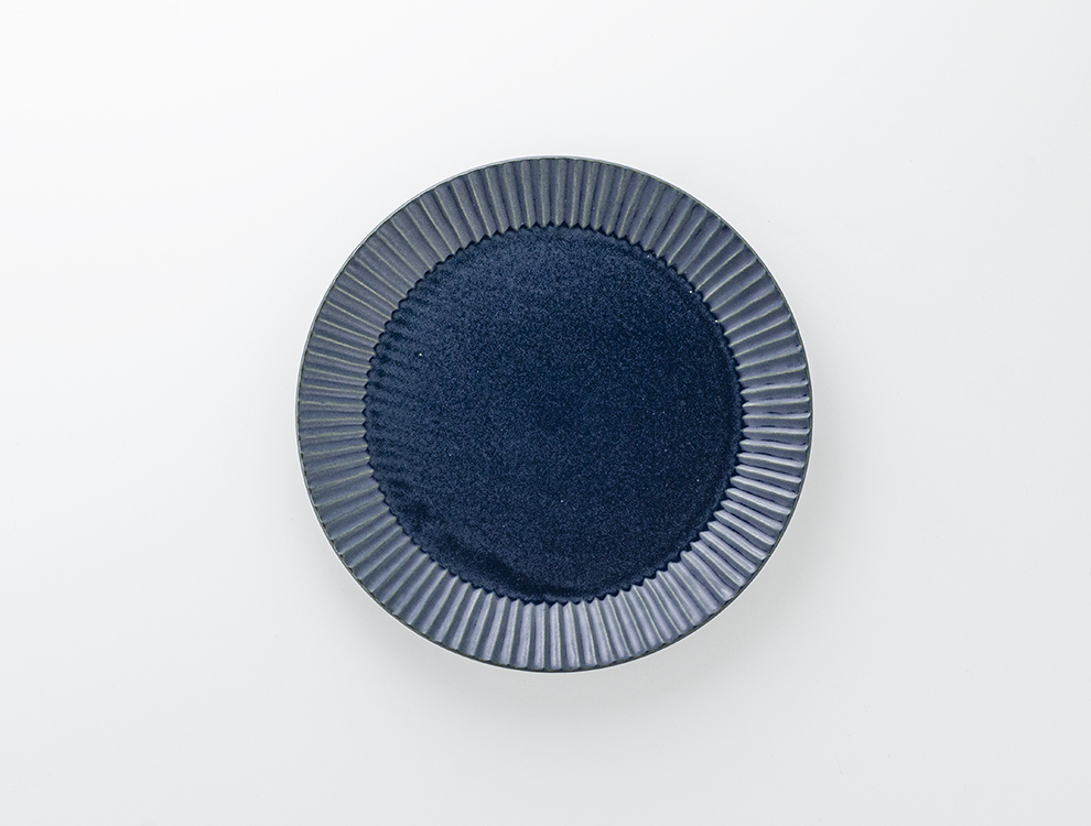 しのぎ_ブルーマット 7寸平皿のイメージ