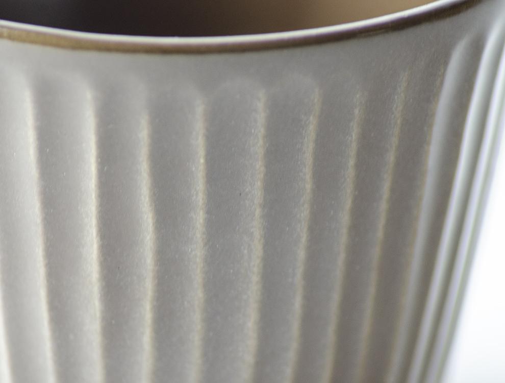 しのぎ_ブラウンマット マグカップのイメージ