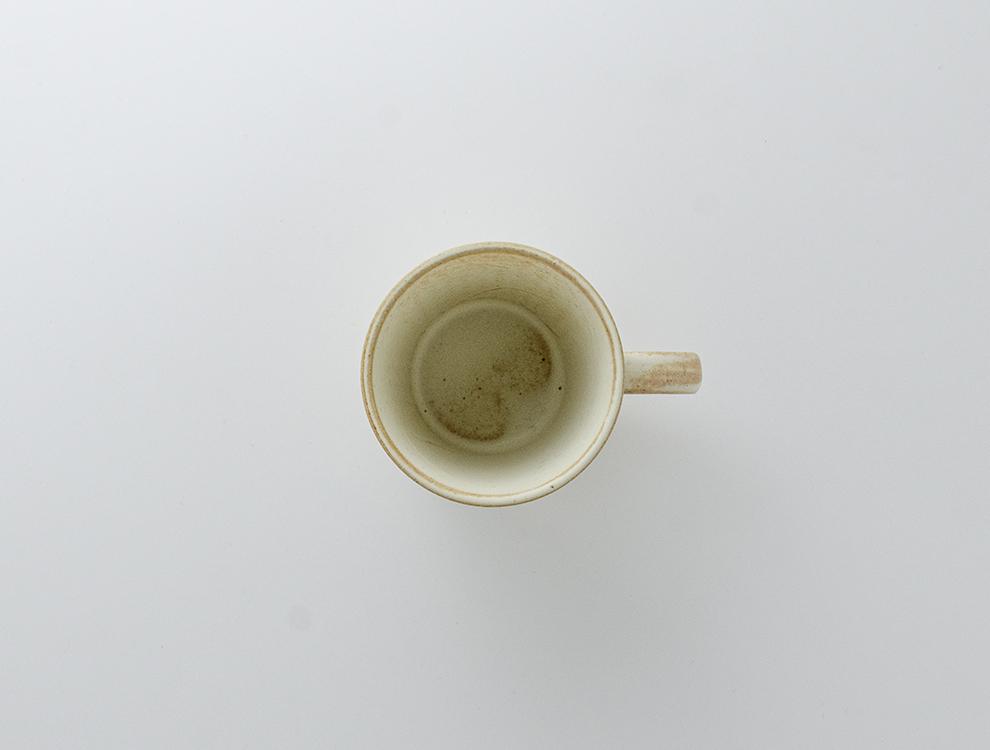 しのぎ_クリームマット マグカップのイメージ