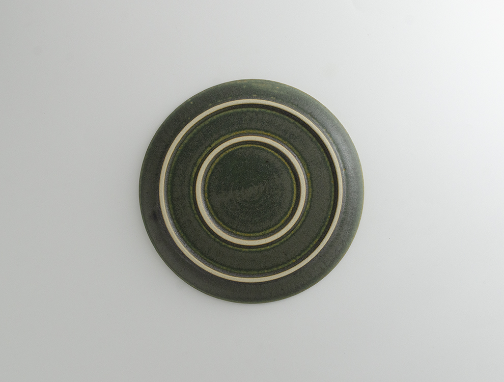 PLAIN_緑 プレート Mのイメージ