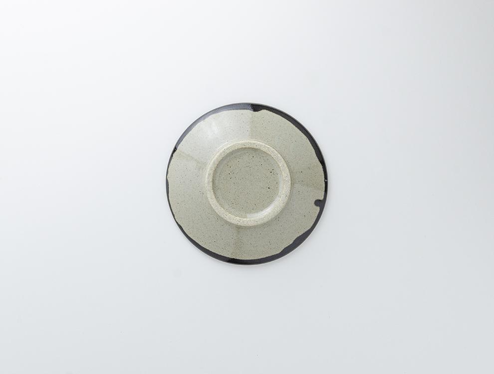 ペルシャ紋_黒ペルシャ紋 6寸丸皿のイメージ
