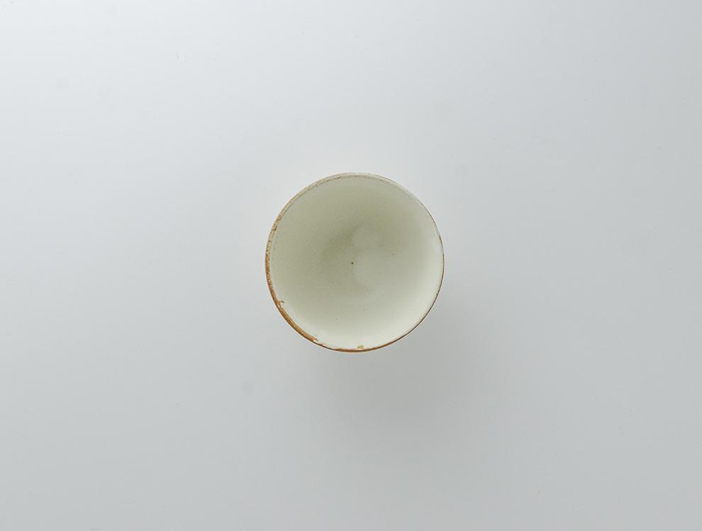 しのぎ_クリームマット 飯碗のイメージ