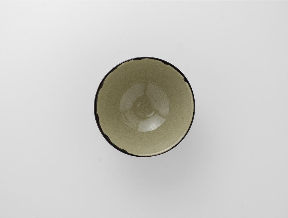 U TOCHIGI DESIGN_黒トクサ 飯碗のイメージ