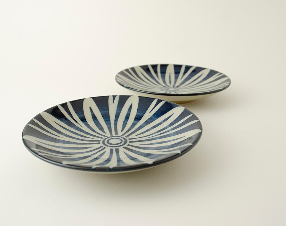 ペルシャ紋5寸丸皿セット(2枚入り) イメージ