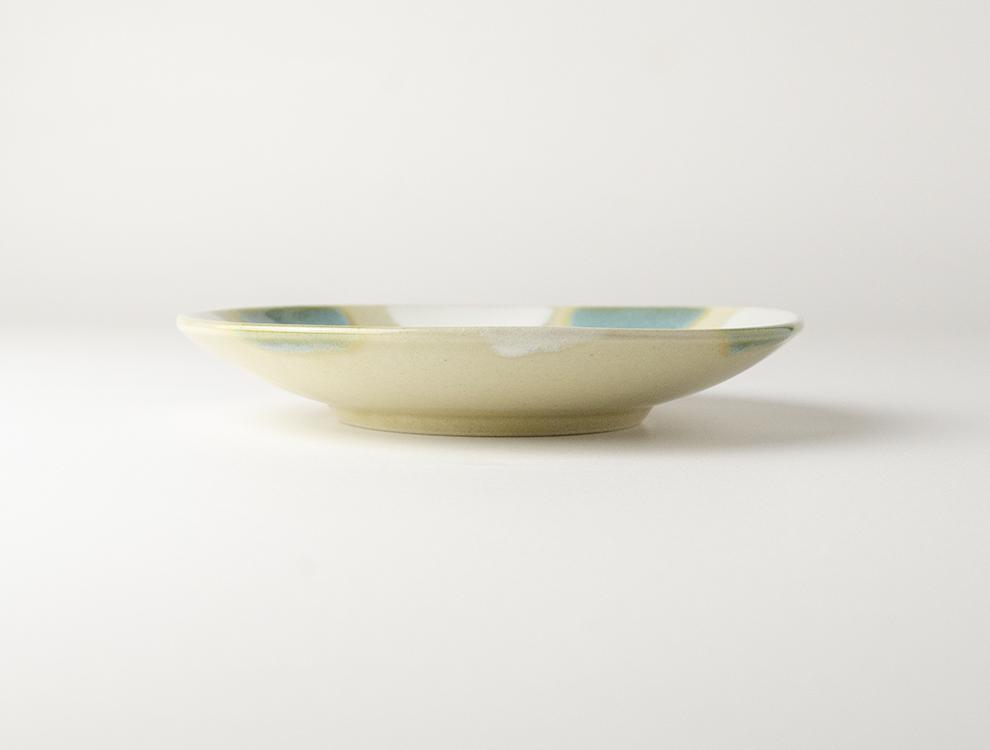 二彩_ 5寸丸皿 2枚セットのイメージ